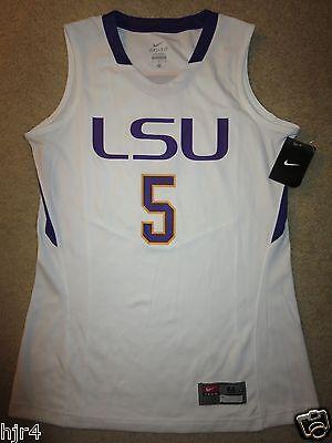 LSU Louisiana State University Lady Tigers Basketball Nike Jersey Womens M NEW