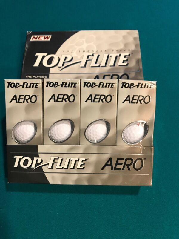 NOS RARE Top Flite Aero Golf Balls 1 Dozen