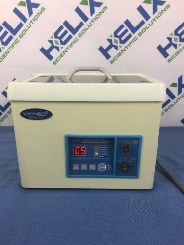VWR B2500A-DTH Ultrasonic Cleaner 2.8L Digital Timer, Heat, Power, De-Gas, 117v