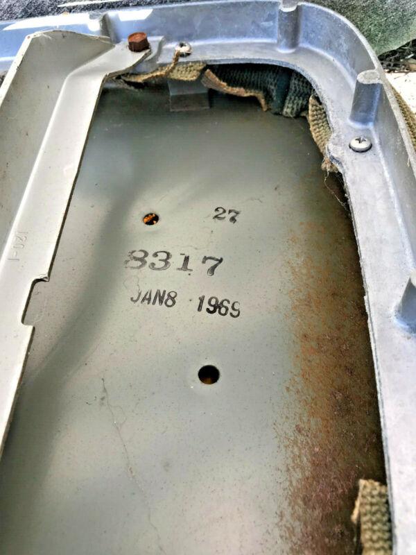 1969 Mid century Modern Shaw Walker industrial tanker chair