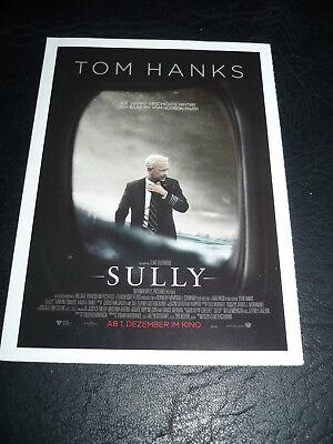 SULLY, film card [Tom Hanks, Anna Gunn, Laura Linney, Aaron Eckhart] for sale  Shipping to India