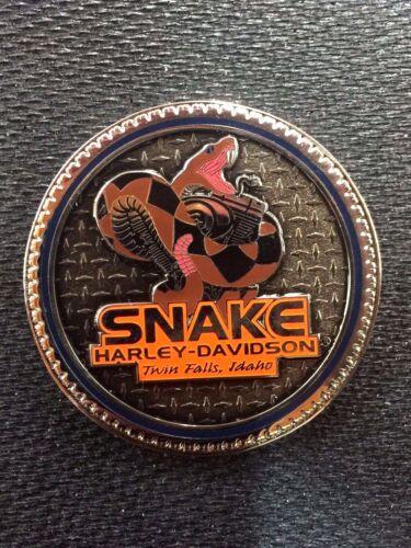 SNAKE HARLEY-DAVIDSON CHALLENGE COIN