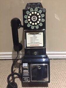 Crosley 1950's replica pay phone