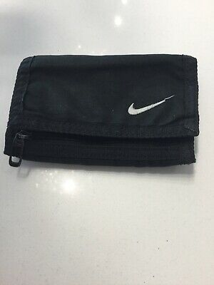 Nike Black Tri Fabric Wallet