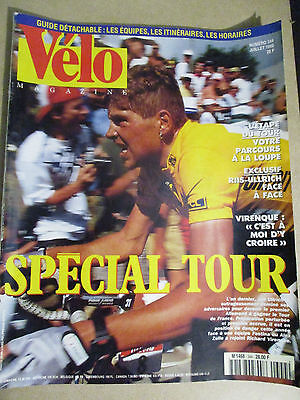 VELO MAGAZINE N°344 : JUILLET 1998 : GUIDE DU TOUR DE FRANCE - AXEL MERCKX