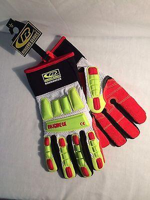 Ringers Roughneck Gloves, High Heat Kevloc, NEW sizes M, L, XL, XXL, XXXL