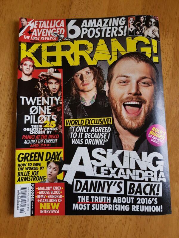 Kerrang%21+Magazine+Issue+%231644+November+5th+2016