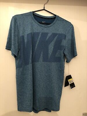 Nike Breathe T Shirt Dri-fit Size UK S AA4987-457