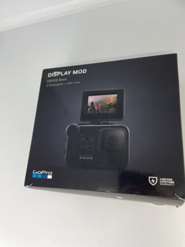 GoPro Hero Display Mod Front Facing Camera Screen Hero8 Hero9 black