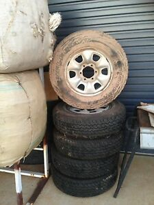 Set of 5 Hilux tyres and Rims Wagga Wagga Wagga Wagga City Preview