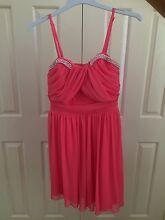Girls Coral Dress size 12. Browns Plains Logan Area Preview