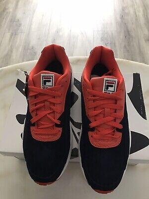 New Mens Fila Navy Sneakers Size 11.5 Medium (D) BHFO 5144