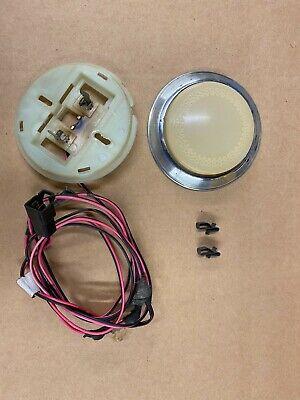 AMC Jeep American Motors interior dome light Rear Cargo Lens Base Wagoneer Lamp