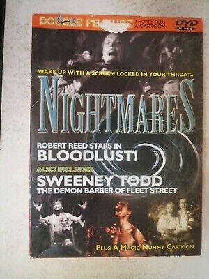 Halloween Vampire Cartoons (NIGHTMARES - Bloodlust! / Sweeney Todd / Plus A Magic Mummy Cartoon -)