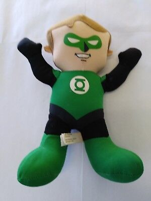 DC Super Friends Plush Green Lantern Boy 10 inch Soft Doll  Toy Factory
