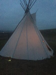 19ft Blackfoot Style Tipi