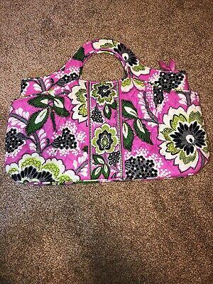 VERA BRADLEY Abby Style Handbag in Priscilla Pink Floral Pattern FREE SHIPPING!