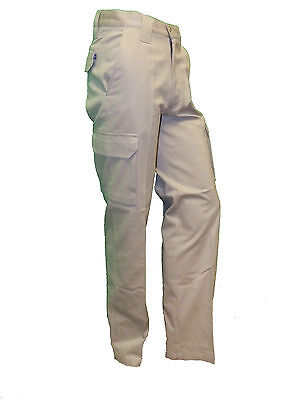 Henbury Men's Cargo Pants Trousers 100% Cotton Twill H620 Superb New