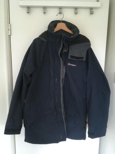 Nice BERGHAUS, Mens Size XL, Navy, GORE-TEX, Waterproof Walking Jacket