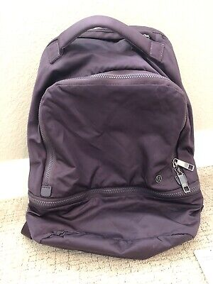 Lululemon City Adventurer Backpack BLCT Black Currant O/S Work to Workout Laptop