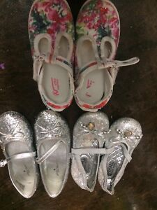Silver Michael kors , jumping 10  11 and naturino size 12