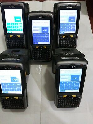 Sagem Securite Psion Teklogix Ikon 7505 Morphorapid Lot Of 5