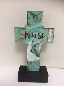 Trust in the LORD cross home decor