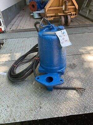 Goulds Ws10388bhf Model 3887bhf Submersible Sewage Pump 200v 3500 Rpm