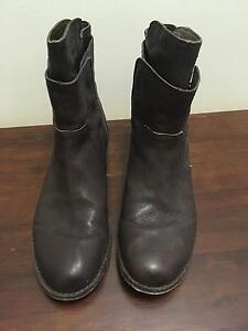 Filippo Raphael size 38 leather boots Hamilton Newcastle Area Preview