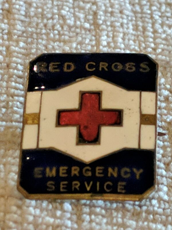 American Red Cross ARC Emergency Service Numbered Pin 8/26B