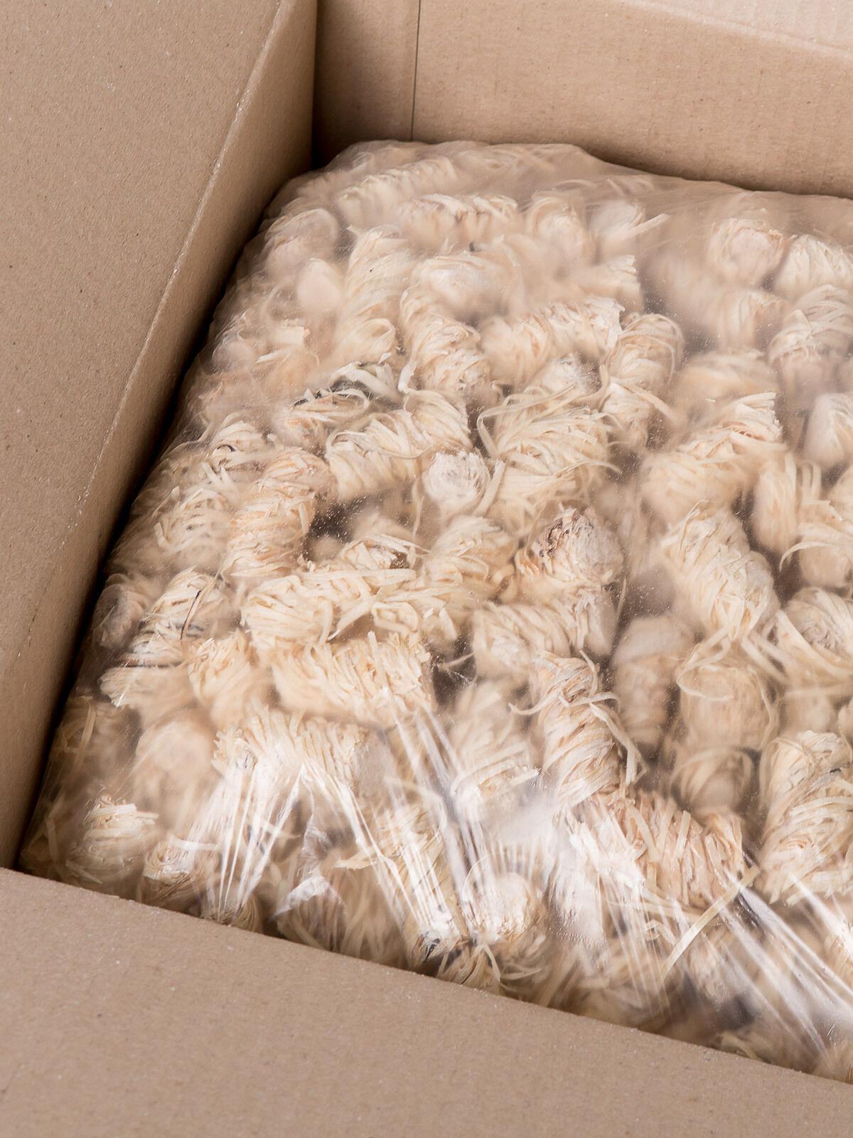 10 kg Ofenanzünder Anzünder Holzanzünder Kaminanzünder aus Holzwolle und Wachs