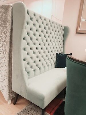 Used, Chesterfield sofa for restaurants ,bars, barber shops. New colours available  77 for sale  London