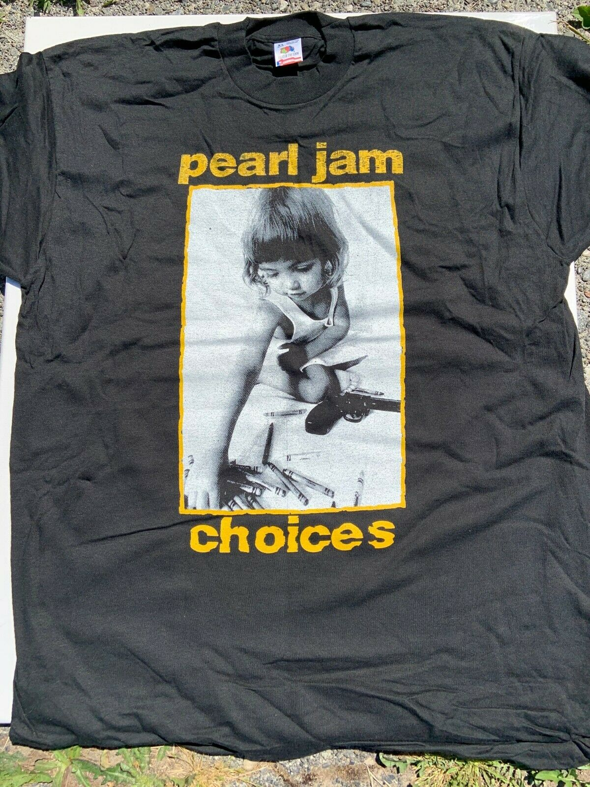 1992 PEARL JAM CHOICES SHIRT