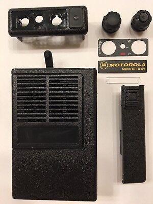 New Oem Motorola Minitor Ii 2 Sv Housing Refurb Kit - Black
