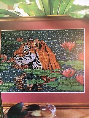 Tiger Cross Stitch Pattern - Tiger Cross Stitch Pattern