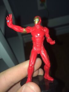 The ultra rare iron man from the old iron man movie