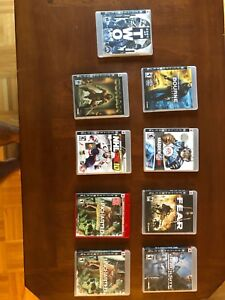 9 PlayStation 3 games. Great condition.