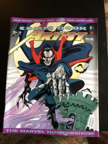 Fanzine COMIC BOOK ARTIST #13 - The Marvel Horrorshow