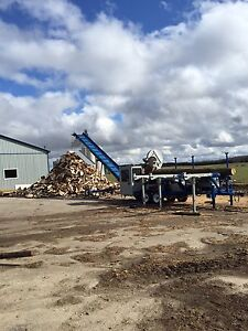 Fast and efficient firewood processing