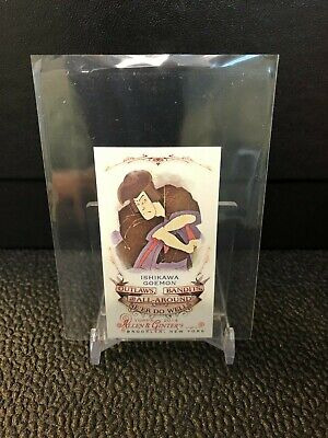 Ishikawa Goemon 2014 Topps Allen Ginter Mini Outlaws Bandits OBA-10 *PWE SHIP*