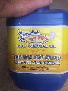 Gulf western diesel oil Rosemeadow Campbelltown Area Preview
