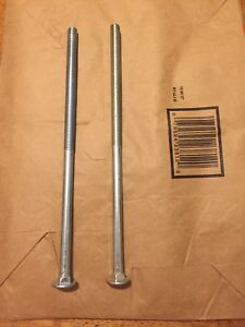 "1/2x12"" carriage bolts"
