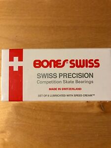 Bones Swiss skateboard bearings (regular $80)