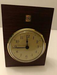 General Electric Presentation Desk Clock, w/ NEW BATTERY [VHTF] (EUC)