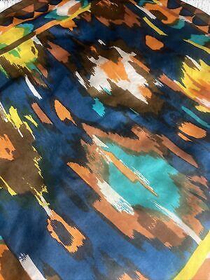 "Vintage Scarf Styles -1920s to 1960s 100% silk scarf headwrap vintage 30.5x32"" $7.50 AT vintagedancer.com"