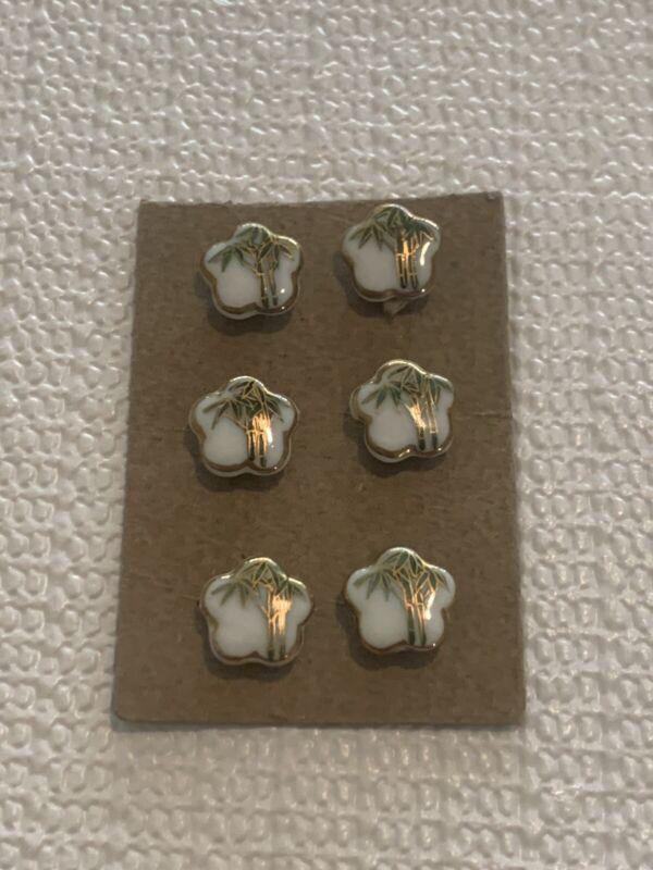 kutani buttons Not Satsuma