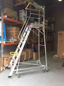 Bailey Deluxe Order Picker Platform Ladder with Safety Gate 2.21m Canning Vale Canning Area Preview