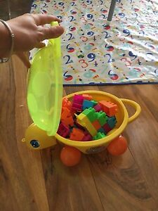 Turtle kids blocks play and learn Redcliffe Belmont Area Preview