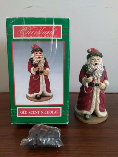 """House Of Lloyd Christmas Around The World Old Scent Nicholas 7"""" Incense Burner"""