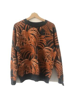 House of Hackney Palmeral Print Cotton Sweater